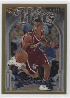 1996-97 Topps Finest - [Base] #280 - Allen Iverson