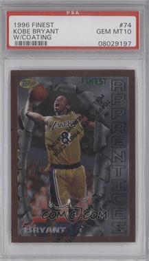 1996-97 Topps Finest - [Base] #74 - Kobe Bryant [PSA10]