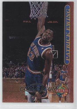 1996-97 Topps Stadium Club - [Base] - TSC Matrix #12 - Patrick Ewing