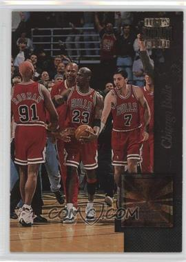 1996-97 Topps Stadium Club - Golden Moments #GM 3 - Chicago Bulls Team, Michael Jordan, Dennis Rodman, Toni Kukoc