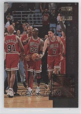 1996-97 Topps Stadium Club - Golden Moments #GM 3 - Chicago Bulls Team