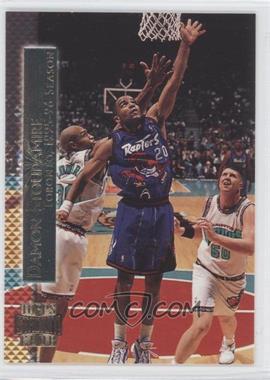 1996-97 Topps Stadium Club - Shining Moments #SM 10 - Damon Stoudamire