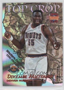 1996-97 Topps Stadium Club - Top Crop #TC 2 - Dikembe Mutombo, Alonzo Mourning