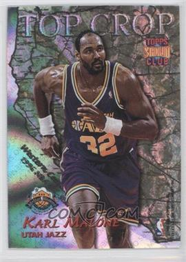 1996-97 Topps Stadium Club - Top Crop #TC 6 - Karl Malone, Vin Baker
