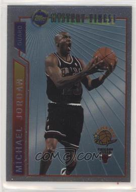 1996-97 Topps Super Teams - [Base] - Conference Winners #M14 - Michael Jordan