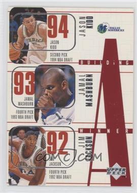 1996-97 Upper Deck - [Base] #141 - Building a Winner - Dallas Mavericks Team, Jason Kidd, Jamal Mashburn, Jim Jackson, Tony Dumas, Loren Meyer
