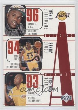 1996-97 Upper Deck - [Base] #148 - Los Angeles Lakers Team, Shaquille O'Neal, Eddie Jones, Nick Van Exel, Cedric Ceballos, Kobe Bryant