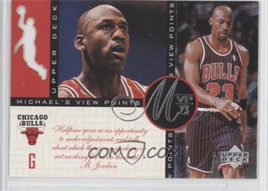 1996-97 Upper Deck - Michael's View Points MVP23 #VP6 - Michael Jordan