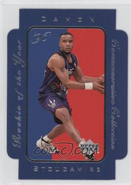 1996-97 Upper Deck - Rookie of the Year Commemorative Collection #RC1 - Damon Stoudamire