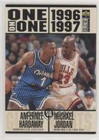 Anfernee Hardaway vs. Michael Jordan