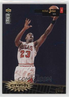 1996-97 Upper Deck Collector's Choice - Prize You Crash the Game Series 1 - Gold #R30 - Michael Jordan