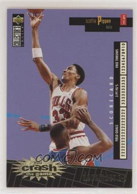 1996-97 Upper Deck Collector's Choice - Redemption You Crash the Game Series 1 - Gold #C4.1 - Scottie Pippen (December 2-8)
