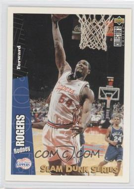 1996-97 Upper Deck Collector's Choice - Slam Dunk Series #13 - Rodney Rogers