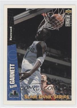 1996-97 Upper Deck Collector's Choice - Slam Dunk Series #21 - Kevin Garnett
