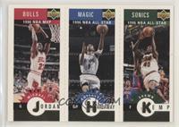 Michael Jordan, Anfernee Hardaway, Shawn Kemp