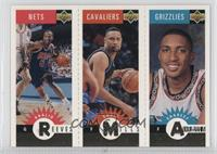 Khalid Reeves, Chris Mills, Shareef Abdur-Rahim