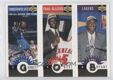 1996-97 Upper Deck Collector's Choice - Upper Deck Mini-Cards - Gold #MBOG - Kevin Garnett, Jermaine O'Neal, Kobe Bryant
