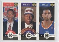 Kerry Kittles, Marcus Camby, Allan Houston