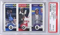 Kevin Garnett, Jermaine O'Neal, Kobe Bryant [PSA10]