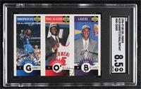 Kevin Garnett, Jermaine O'Neal, Kobe Bryant [SGC8.5NM/Mt+]