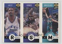 Bryon Russell, Michael Smith, Lawrence Moten