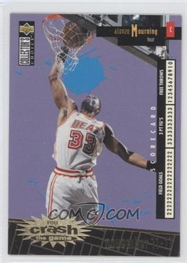 1996-97 Upper Deck Collector's Choice International French - You Crash the Game - Gold #C14 - Alonzo Mourning