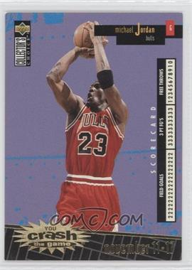 1996-97 Upper Deck Collector's Choice International French - You Crash the Game - Gold #C30 - Michael Jordan