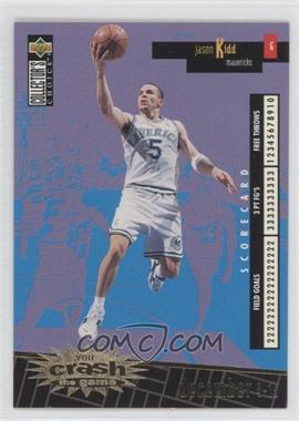 1996-97 Upper Deck Collector's Choice International French - You Crash the Game - Gold #C6 - Jason Kidd