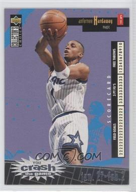 1996-97 Upper Deck Collector's Choice International French - You Crash the Game - Silver #C19 - Anfernee Hardaway