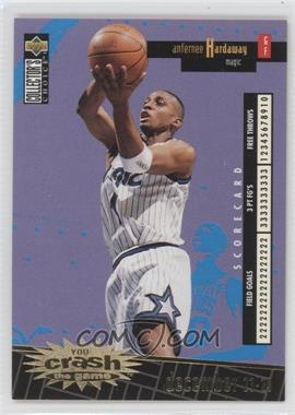 1996-97 Upper Deck Collector's Choice International Italian - Crash the Game - Gold #C19 - Anfernee Hardaway
