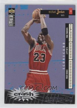 1996-97 Upper Deck Collector's Choice International Italian - Crash the Game #C30 - Michael Jordan
