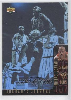 1996-97 Upper Deck Collector's Choice International Italian - Jordan's Journal #J3 - Michael Jordan