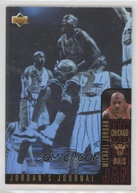 1996-97 Upper Deck Collector's Choice International Italian - Jordan's Journal #J3 - Michael Jordan