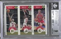 Ron Harper, Michael Jordan, Steve Kerr [BGS9]