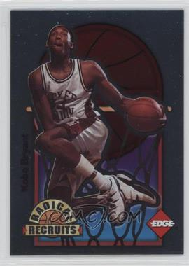1996 Edge - Radical Recruits #3 - Kobe Bryant /6750