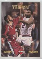 Marcus Camby, Moses Malone [EXtoNM] #/2,500