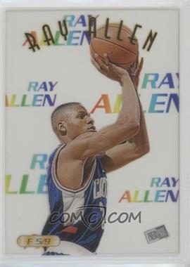 1996 Press Pass - Acetates #F 5 - Ray Allen