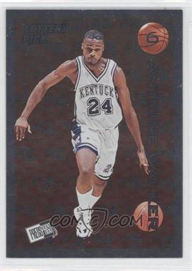 1996 Press Pass - Lottery Pick #L6 - Antoine Walker