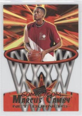 1996 Press Pass - Net Burners #NB2 - Marcus Camby