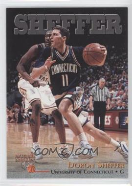 1996 Score Board Basketball Rookies - [Base] #39 - Doron Sheffer