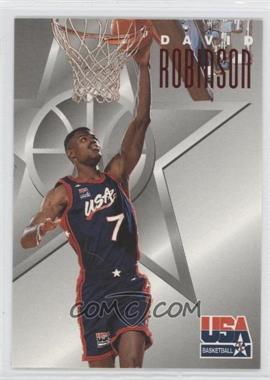 1996 Skybox Texaco USA Basketball - [Base] #10 - David Robinson