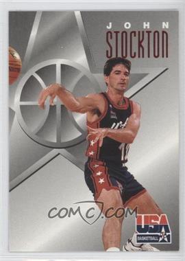 1996 Skybox Texaco USA Basketball - [Base] #12 - John Stockton