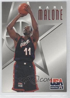1996 Skybox Texaco USA Basketball - [Base] #4 - Karl Malone
