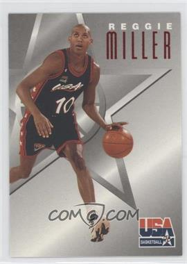 1996 Skybox Texaco USA Basketball - [Base] #5 - Reggie Miller