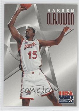 1996 Skybox Texaco USA Basketball - [Base] #6 - Hakeem Olajuwon