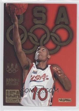 1996 Skybox USA Basketball - Gold #G4 - Reggie Miller