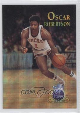 1996 Topps Stars - [Base] - Atomic Refractor #38 - Oscar Robertson