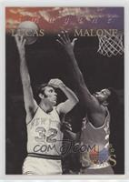 Moses Malone, Jerry Lucas