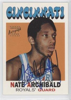 1996 Topps Stars - Reprints - Autographs [Autographed] #2 - Nate Archibald