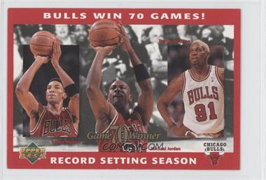 1996 Upper Deck Authenticated - [???] #N/A - [Missing]